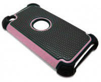 Triple Defender Hybrid Case Light Pink для iPod Touch 4G
