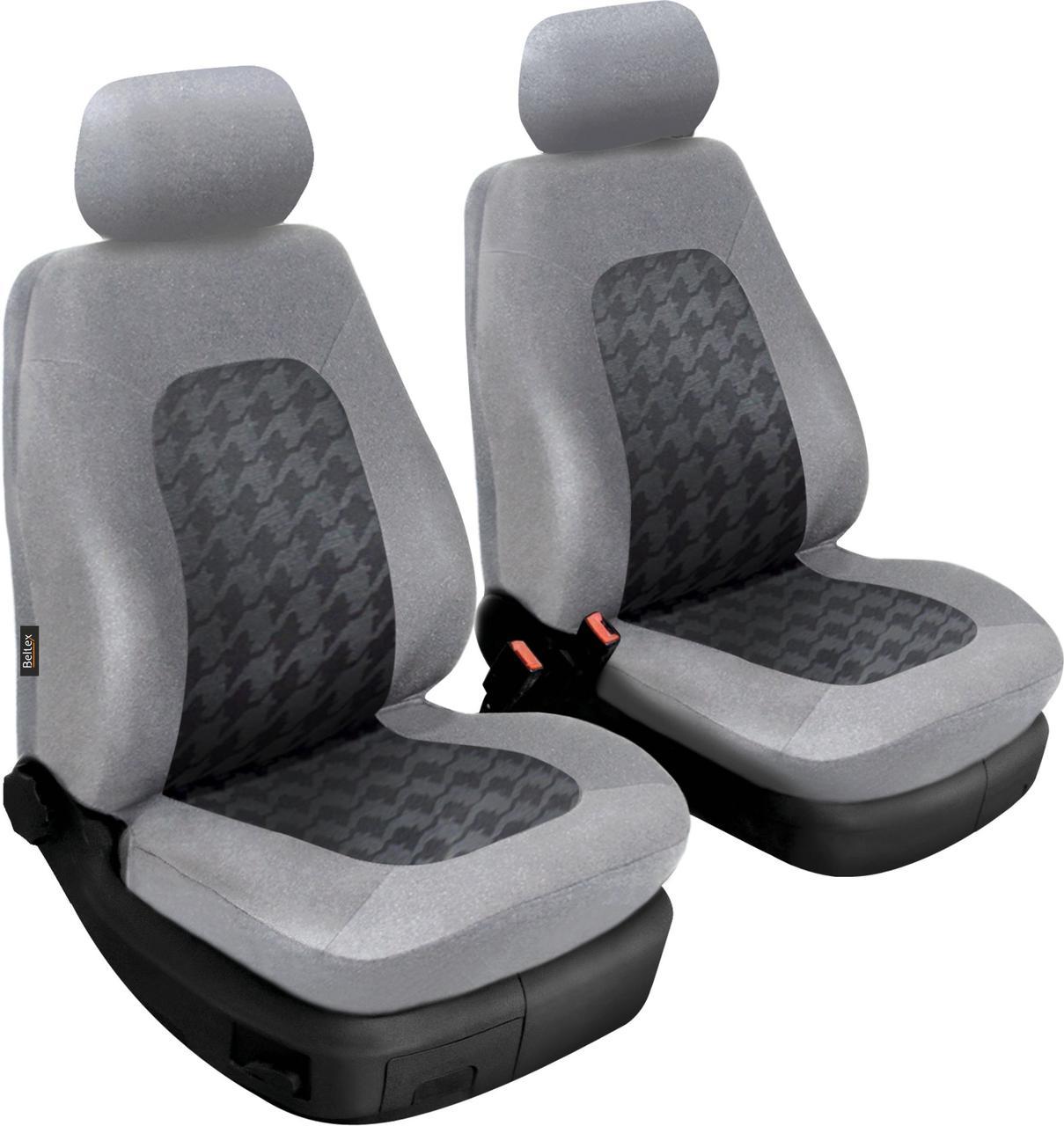 Чехлы Beltex Bolid на передние сиденья, черный цвет