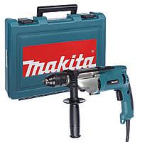 Двухскоростная ударная дрель Makita HP2071