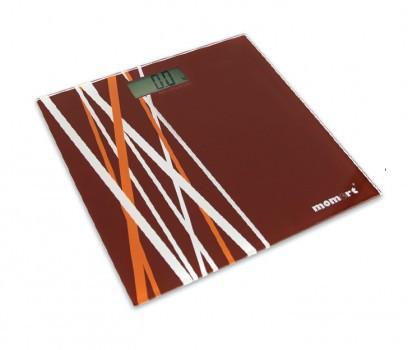 Весы напольные электронные на стеклянной платформе «Бамбук» Момерт (Momert 5848-4), до 180 кг, Венгрия