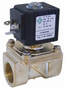 Электромагнитный клапан для воды 21H9KB180 (ODE, Italy), G3/4