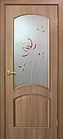 Двери покрытие пвх Адель 2 СС+КР дуб золотой, фото 1
