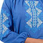 Сорочка вышиванка Украиночка_джинс, фото 4