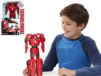 Transformers Robots in Disguise Titan Changers Sideswipe Figure Hasbro