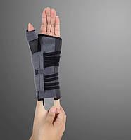 Ортез для лучезапястного сустава и большого пальца с анатомическими шинами EH-403 (левый), Ortop, Тайвань