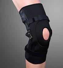 Ортез на коленный сустав с полицентрическими облегченными шарнирами, разъемный ES-798, Ortop