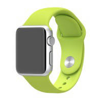 Ремешок Apple 38mm Green Sport Band (MJ4L2) S/M&M/L для Apple Watch Series 1/2/3