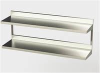 Полка кухонная навесная ПК-2 Эталон(304),  300 мм Эфес 1500