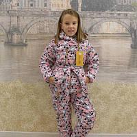 "Зимний костюм для девочки ""Цветочек-17"" (р.34-42)"