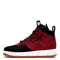 Зимние кроссовки Nike Air Force Duckboot Red Красные (Арт. 1624)