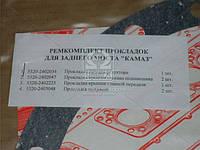 Ремкомплект моста заднего КАМАЗ (4 наименования) (паронит 0.8) (производство Украина) (арт. 5320-2400000)