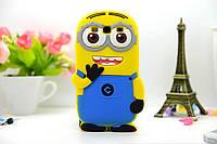 Чехол-бампер силиконовый Samsung Galaxy A7 A700 A7000 Миньон
