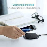 Беспроводное зарядное устройство Anker 10W Qi Wireless для Apple IPhone 8, Samsung S7 (A2513011)