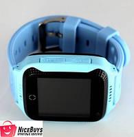 Детские GPS Часы Smart Baby Watch Q65 (G100) blue