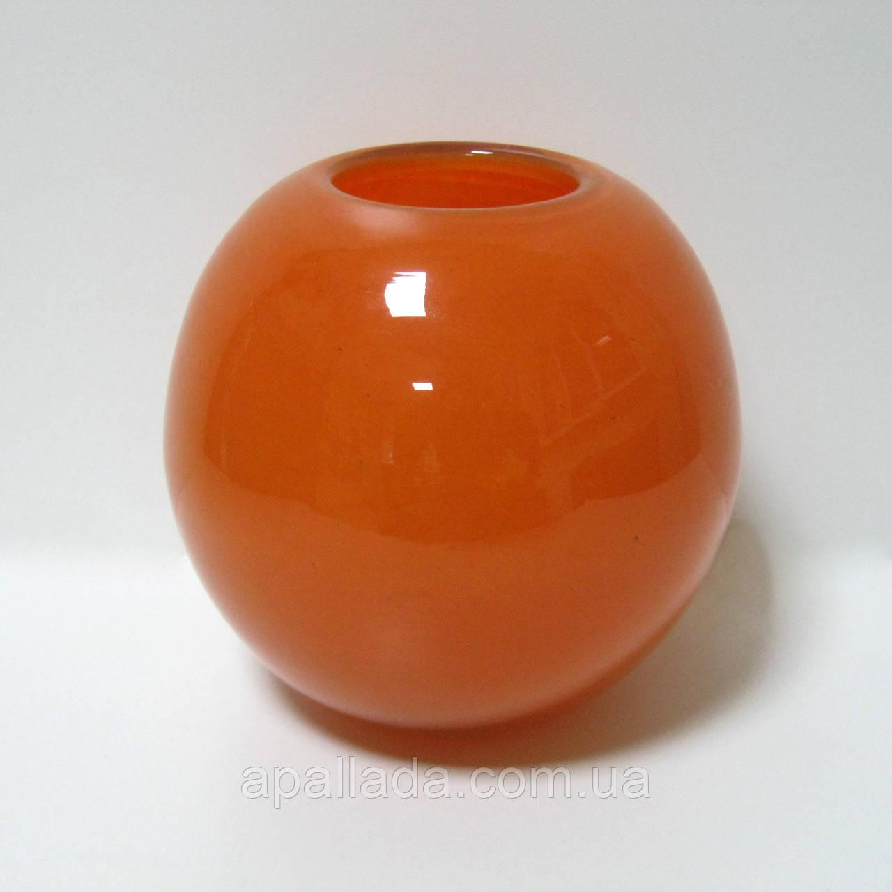 Ваза Оранжевая, литая