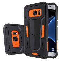 Противоударный защитный чехол Nillkin Defender 2 Orange для Samsung Galaxy S7 edge