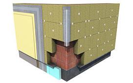 Фасадна мінеральна вата