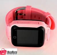 Детские GPS Часы Smart Baby Watch Q65 (G100) pink