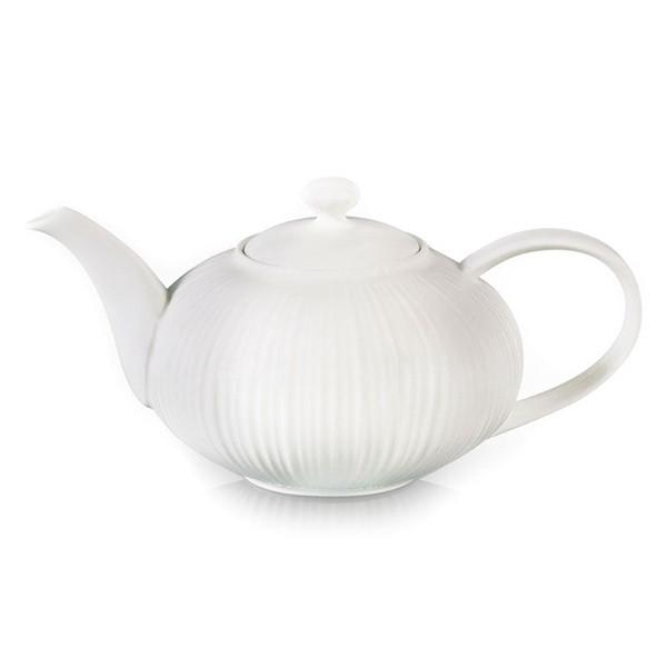 Чайник заварочный Fissman ELEGANCE WHITE 1 л (Керамика)