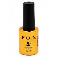 F.O.X Top Rubber - каучуковый закрепитель для гель-лака, 12мл