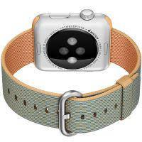 Ремешок HOCO Woven Nylon Gold/Royal Blue для Apple Watch 42mm Series 1/2/3