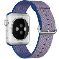 Нейлоновый ремешок Woven Nylon Royal Blue для Apple Watch 42mm Series 1/2/3