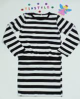 Трикотажное  платье для девочки, фото 1