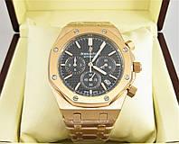 Часы Audemars Piguet Royal Oak Offshore 41mm Chronograph Rose Gold/Black. Класс: ELITE.