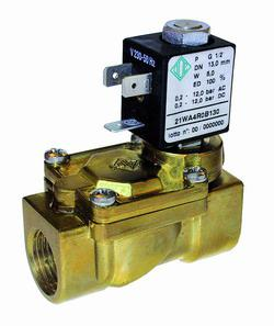 Электромагнитный клапан для пара 21WA4ZOE130 (ODE, Italy), G 1/2, до 140°C