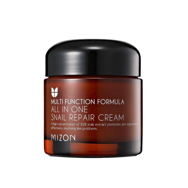 Крем для лица с улиточным фильтратом сильнодействующий Mizon All In One Snail Repair Cream - 75 мл