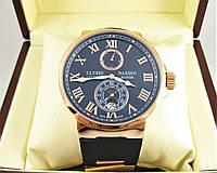 Часы Ulysse Nardin LELOCLE 45mm (механика) Black/Gold. Replica: ELITE.
