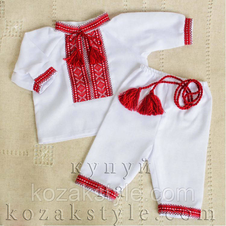 Костюм для немовлят (на хлопчика) - Український одяг. Патріотичний одяг.  Вишиванки. e1a4893a30be4