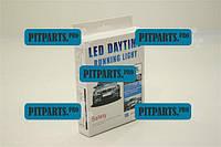 Дневные ходовые огни 8 LED диодов 1.8W L-16см (светодиодные фары дневного света)  (HDX008-A\ JH-008-01)