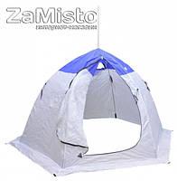 Палатка зимняя шестигранная Fishing ROI blue-white