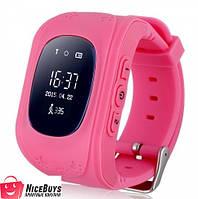 Детские Умные GPS Часы Smart Baby Watch Q50 pink