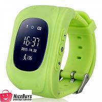 Детские Умные GPS Часы Smart Baby Watch Q50 green
