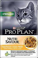 ProPlan Sterilised, Про План, влажный корм с курицей для кастрированных котов, 85 г
