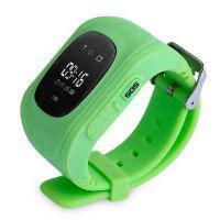 Детские часы-телефон с GPS-трекером Q50 Салатовые