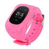 Детские часы-телефон с GPS-трекером Q50 Розовые