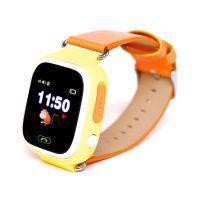 Детские часы-телефон с GPS трекером Q90 Orange