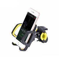 Универсальный велодержатель HOCO CA14 Yellow для телефона