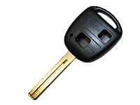 Корпус классического авто ключа Toyota  лезвие TOY 48, 2 кнопки