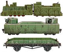 Сборная модель Умная бумага Бронепоезд (307) Распродажа