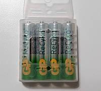 Комплект аккумуляторов (4 шт) GP Green Generation ReCyko+ АAА 1.2V 800mAh Ni-MH, фото 1