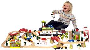 Железные дороги, поезда, автотреки