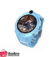 Детские GPS Часы Smart Baby Watch Q360 (GW600) blue