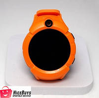 Детские GPS часы Smart Baby Watch Q360 orange