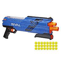 Бластер Nerf Нерф Райвал Атлас XVI-1200 синий  B3857/B3855 (Nerf Rival Atlas XVI-1200 Blaster Blue)