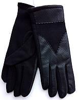 Женские перчатки из кашемира и кожи