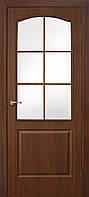 Двери ламинированные пленкой ПВХ Классика СС орех